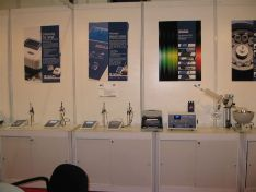 Bibby Scientific Middle East stand